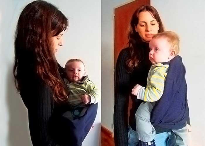 Cangurito para llevar al bebe - CANGURITO
