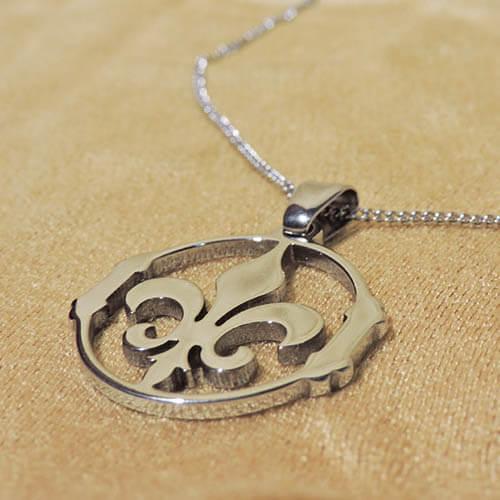collar-flor-de-lis-cadena-45cm