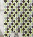 Cortina de Baño 100% PEVA ECA – Ball Verde v3