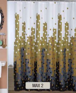 Cortinas de Baño Estampadas MAX 2- Decoraciones Integrales - DI4000