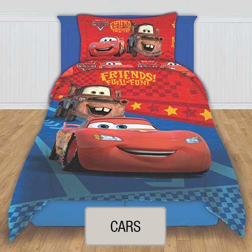 Cubrecama Quilt Reversible Disney - Cars