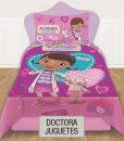 Cubrecama Quilt Reversible Disney – Doctora Juguetes