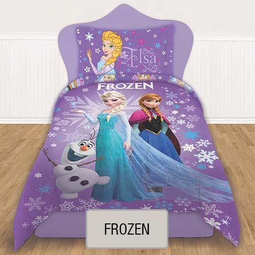 Cubrecama Quilt Reversible Disney - Frozen