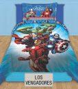 Cubrecama Quilt Reversible Disney – Los Vengadores