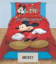 Cubrecama Quilt Reversible Disney - Mickey