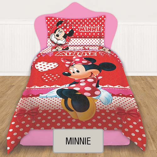 Cubrecama Quilt Reversible Disney - Minnie
