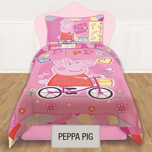 Cubrecama Quilt Reversible Disney - Peppa Pig