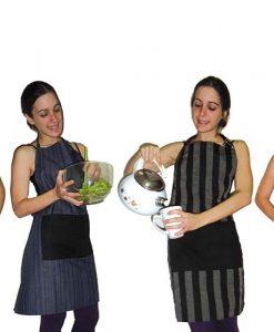 Delantar de Cocina con Pechera Estampado