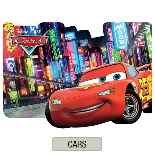 Individual Troquelado Infantil - Cars