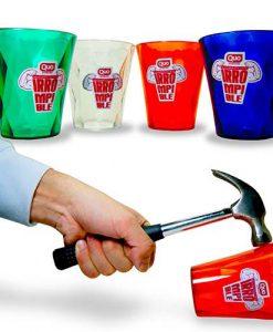 Plasticos - Vaso acrilico facetado