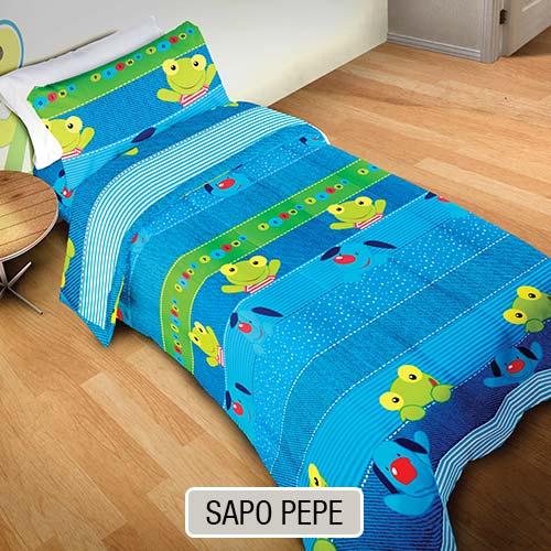 Sabana Infantil Sapo Pepe