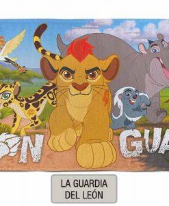 Toallon Piñata Disney - La guardia del leon