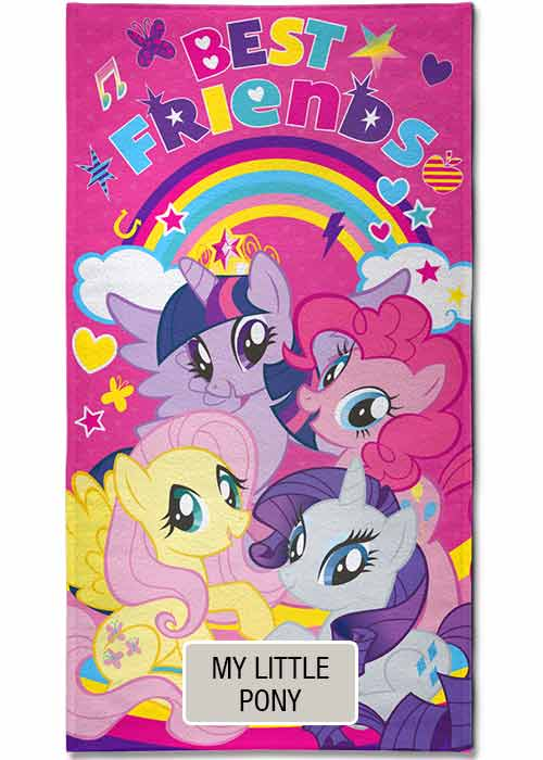 Toallon Piñata Disney - My Little Pony