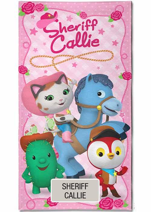Toallon Piñata Disney - Sherif Callie