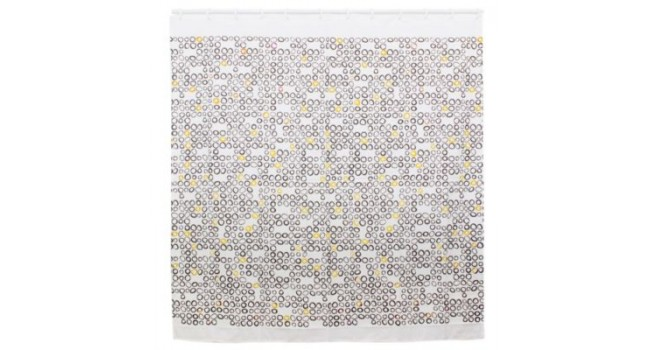 cortina baño tela