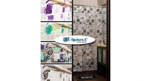 cortina para baño plastica