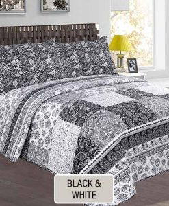 Cover Quilt Estampado - Black and White- BNLQUILT