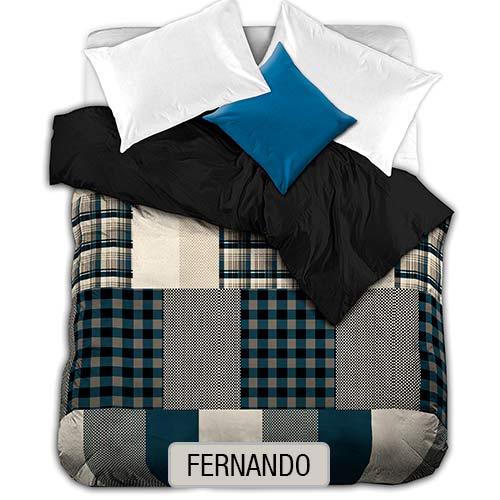 EDREDON CORDERITO BIFAZ - Fernando
