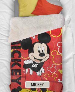 Edredon Corderito Piñata Disney - Mickey