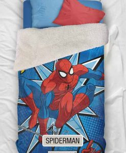 Edredon Corderito Piñata Disney - Spiderman