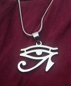 Collar Ojo de Horus + Cadena 50 cm