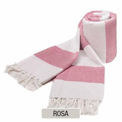 Cubrecama rustico KAILA - Rosa
