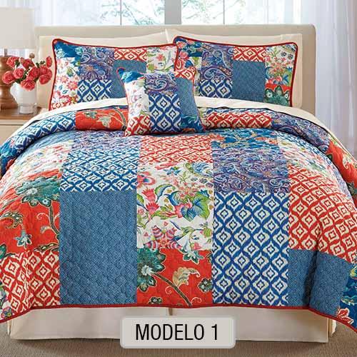 Edredon Quilt con Corderito - Modelo 1