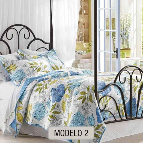 Edredon Quilt con Corderito - Modelo 2